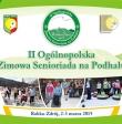 Pięciuset zawodników wystartuje na II Senioriadzie w Rabce-Zdroju