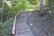 Remont szlaku na Sokolicę
