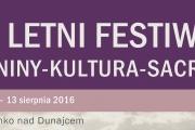 7. Letni Festiwal Pieniny-Kultura-Sacrum